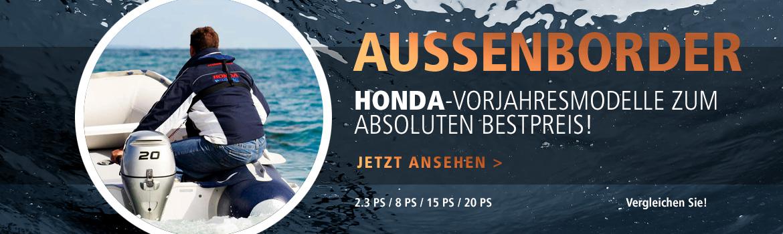Außenborder-Aktion Honda