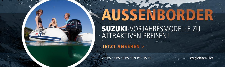 Außenborder-Aktion Suzuki