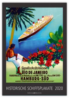 Kalender Historische Schiffsplakate 2020
