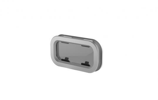 Lewmar Portlight Typ 0, zum öffnen,  176x323mm Standard Portlight zum öffnen   Typ 0 - 176 x 323mm