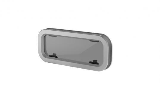 Lewmar Portlight Typ 3, zum Öffnen, 191x449mm Standard Portlight zum öffnen | Typ 3 - 191 x 449mm