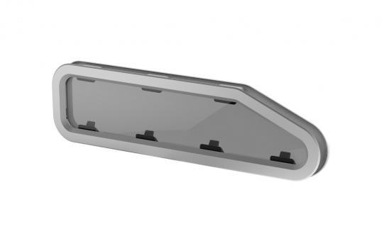 Lewmar New Standard Portlights 4 R Open, 195x708mm Standard Portlight zum öffnen   Typ 4R - 195 x 708mm