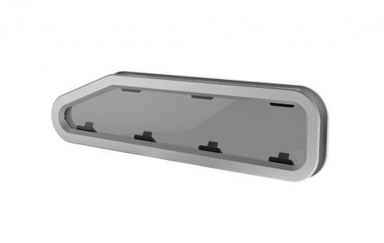 Lewmar New Standard Portlights 4 L Open, 191x708mm Standard Portlight zum öffnen | Typ 4L - 195 x 708mm