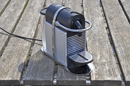 Edelstahlhalterung Nespresso Maschine Modell Pixie