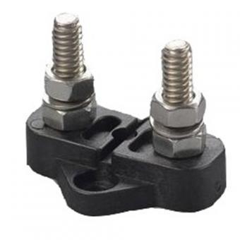 Stromsammelpunkt Doppel-Mini 35x42mm, Stift 6mm Doppel-Mini