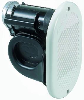 Kompressorhorn Compact 12V, weiß weiß
